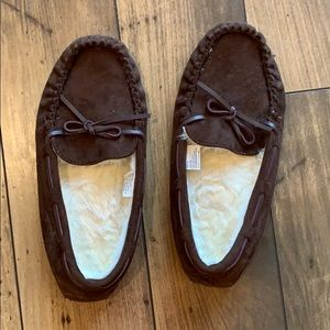Shoes - 5/$15 Sonoma moccasin slippers sz Lg 9-10
